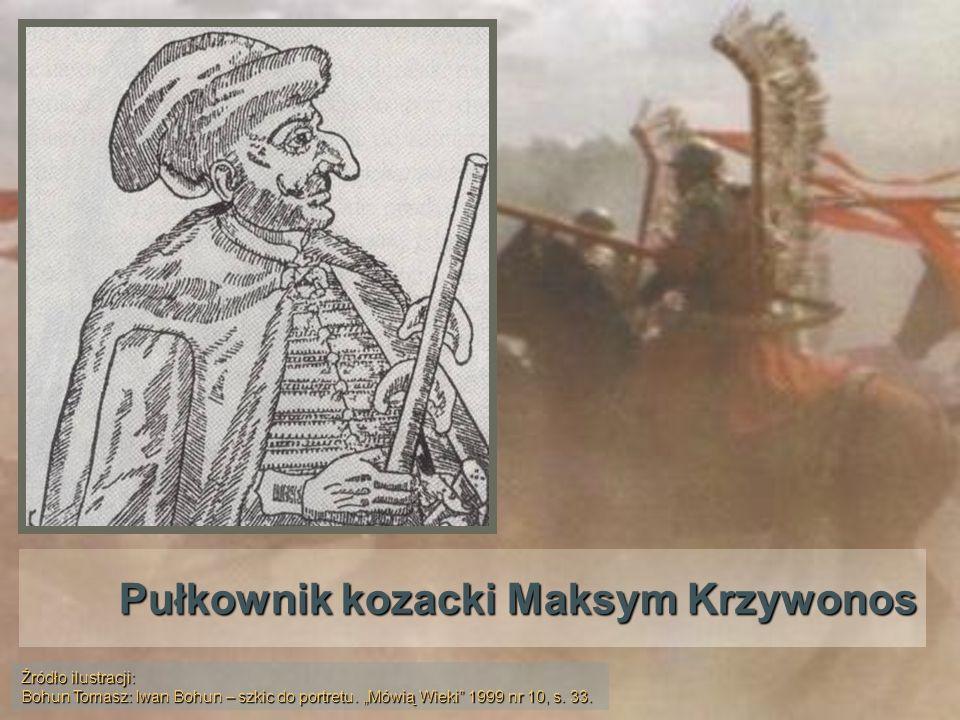 Pułkownik kozacki Maksym Krzywonos