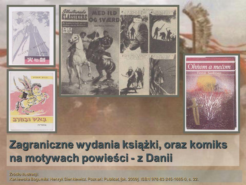 Zagraniczne wydania książki, oraz komiks na motywach powieści - z Danii