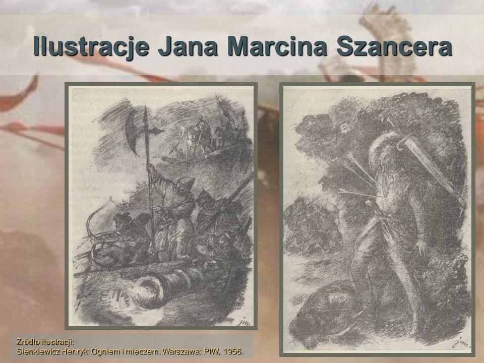 Ilustracje Jana Marcina Szancera