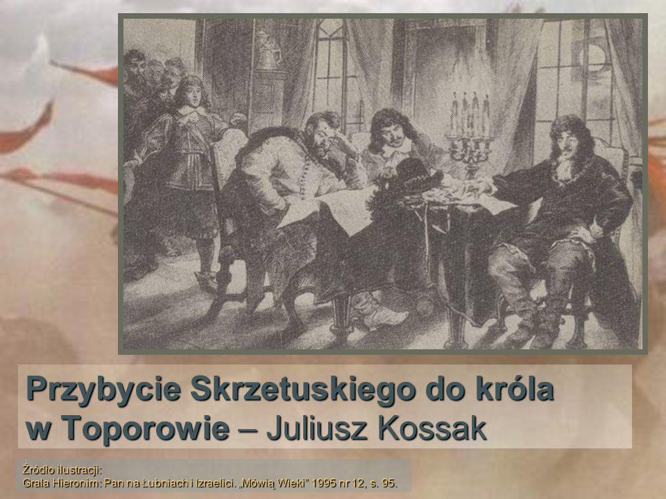 Przybycie Skrzetuskiego do króla w Toporowie – Juliusz Kossak