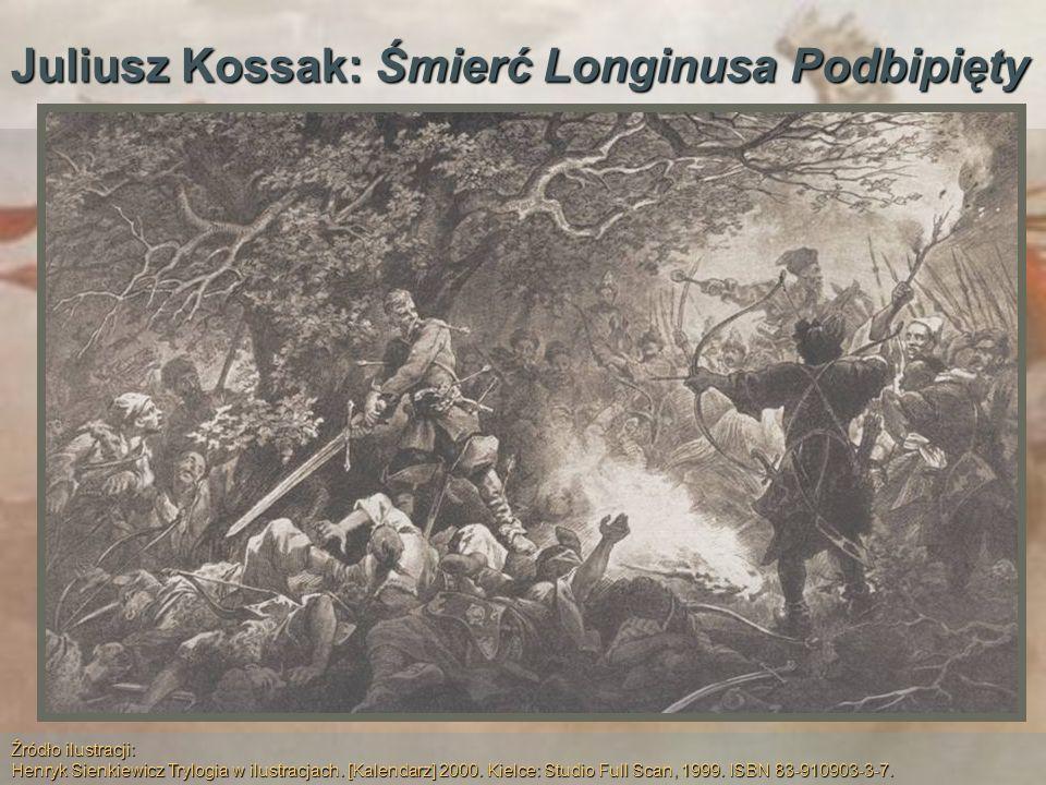 Juliusz Kossak: Śmierć Longinusa Podbipięty