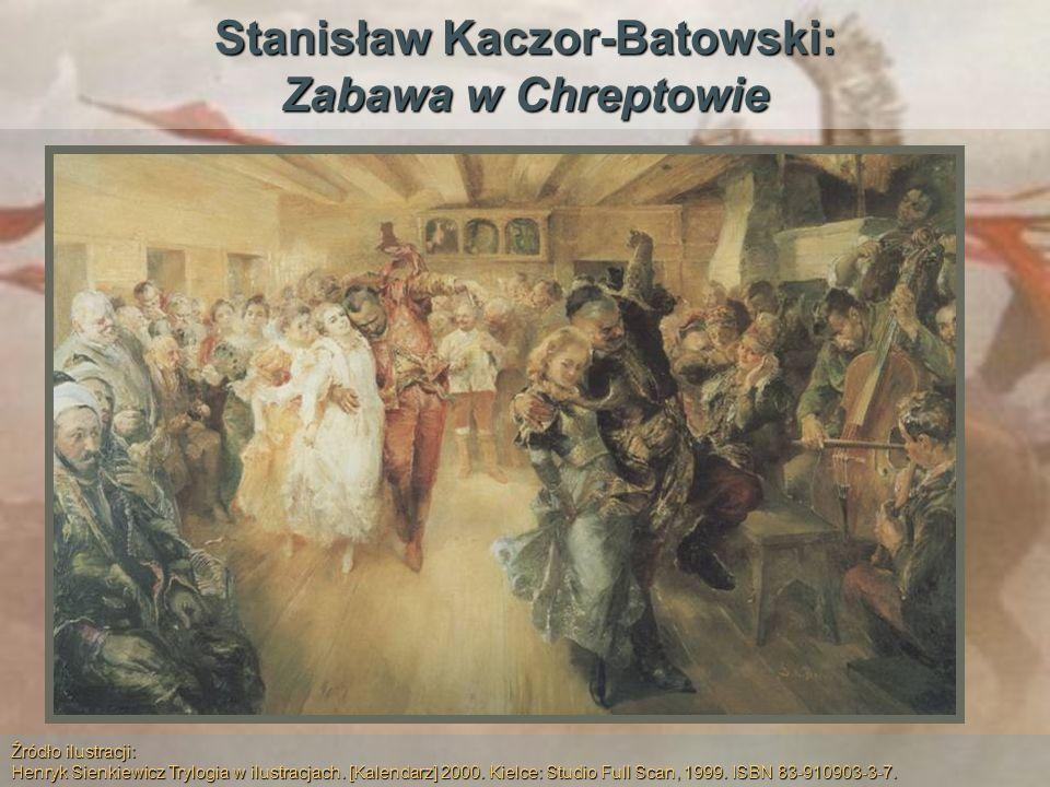Stanisław Kaczor-Batowski: Zabawa w Chreptowie