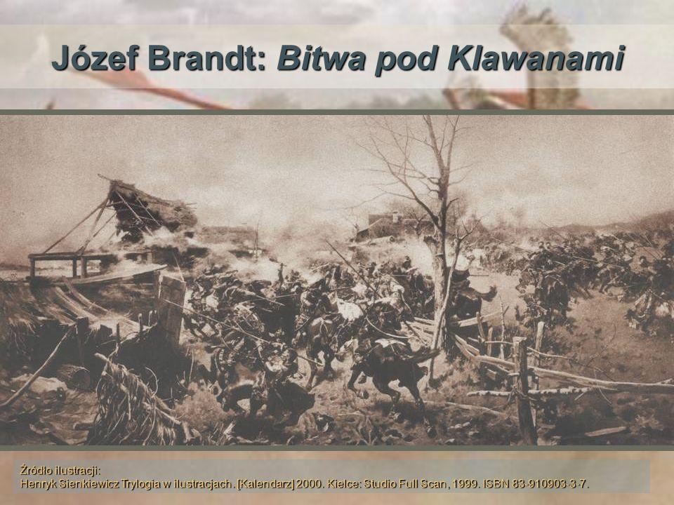Józef Brandt: Bitwa pod Klawanami