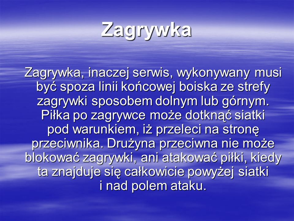 Zagrywka