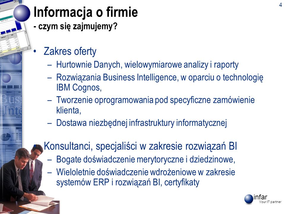 Informacja o firmie - czym się zajmujemy