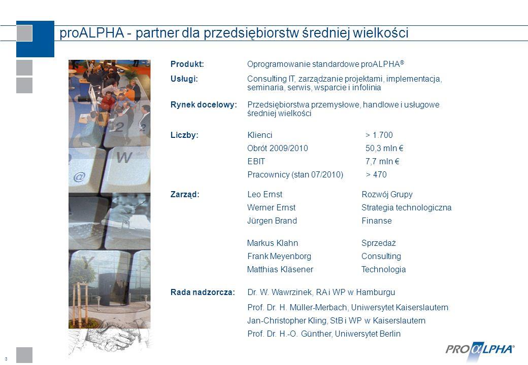 proALPHA - partner dla przedsiębiorstw średniej wielkości
