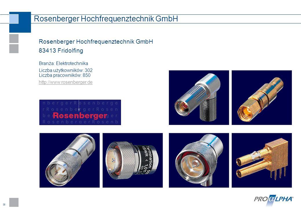 Rosenberger Hochfrequenztechnik GmbH