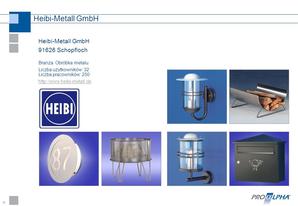 Heibi-Metall GmbH Heibi-Metall GmbH 91626 Schopfloch