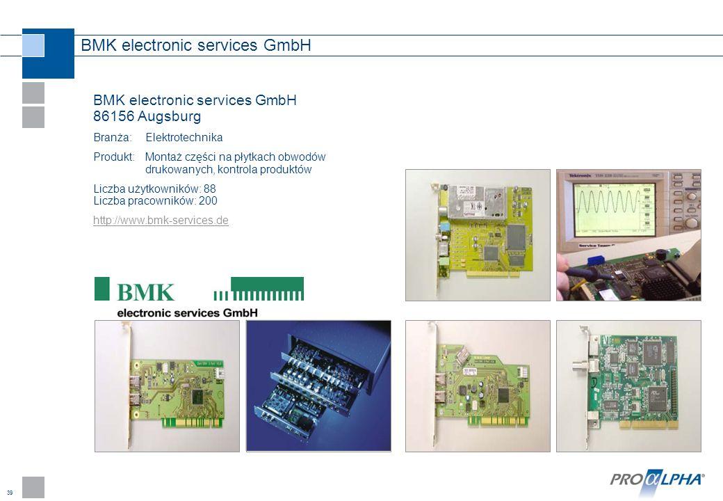 BMK electronic services GmbH