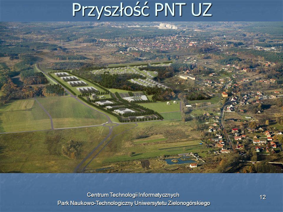 Przyszłość PNT UZ Centrum Technologii Informatycznych