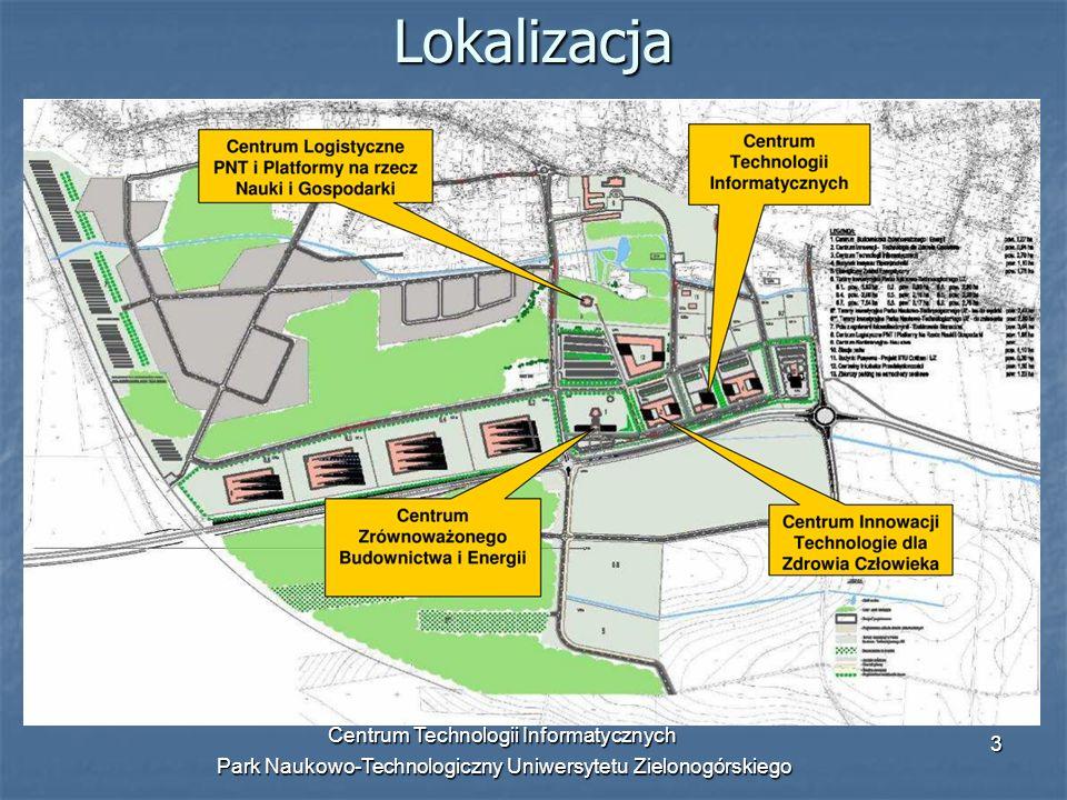 Lokalizacja Centrum Technologii Informatycznych