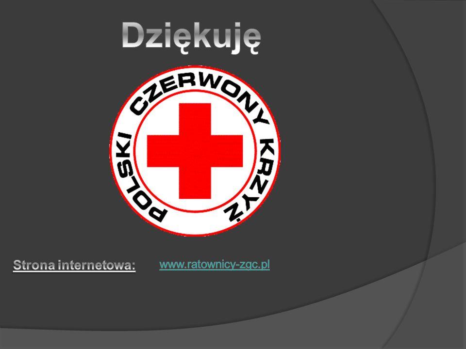 Dziękuję Strona internetowa: www.ratownicy-zgc.pl