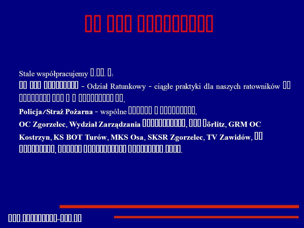 GR PCK Zgorzelec Stale współpracujemy m.in. z: