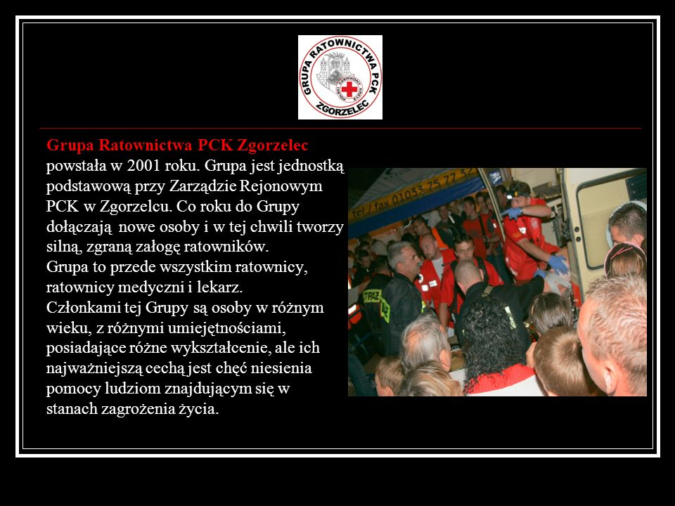 Grupa Ratownictwa PCK Zgorzelec