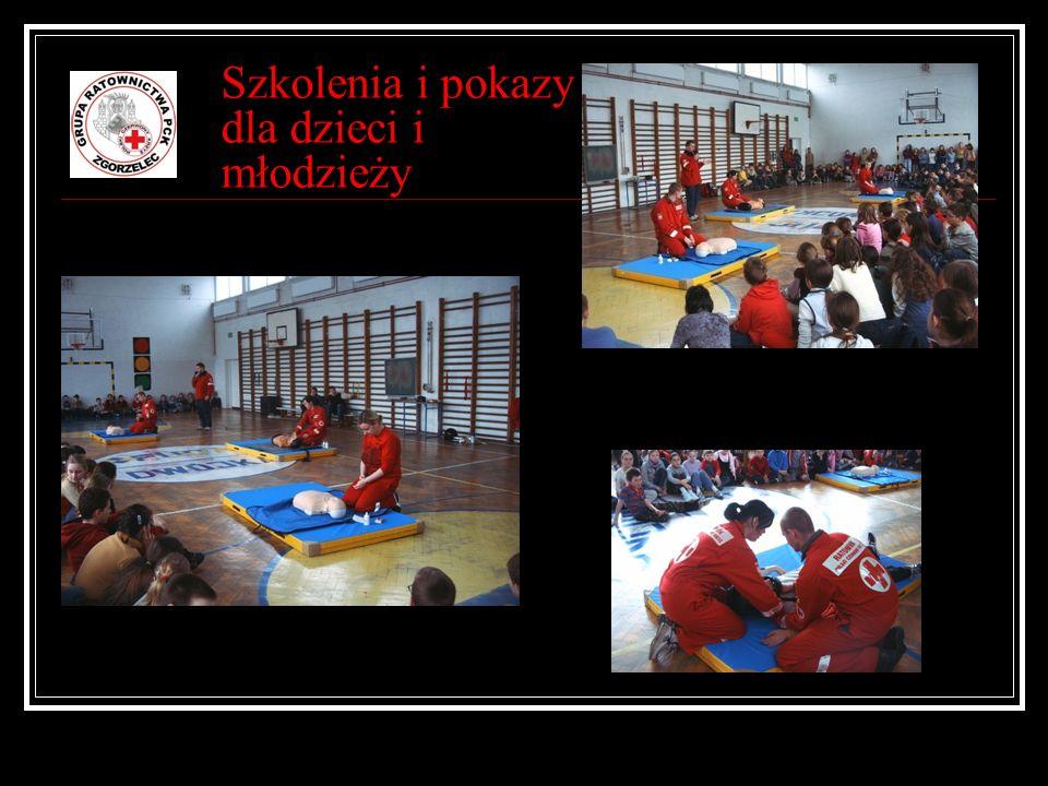 Szkolenia i pokazy dla dzieci i młodzieży