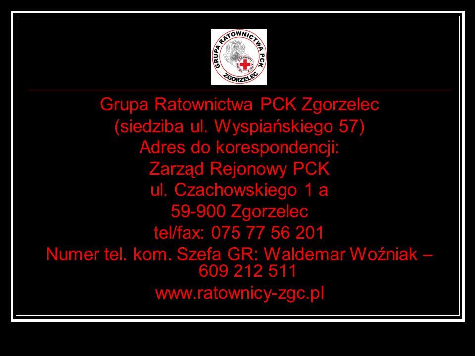 Grupa Ratownictwa PCK Zgorzelec (siedziba ul. Wyspiańskiego 57)