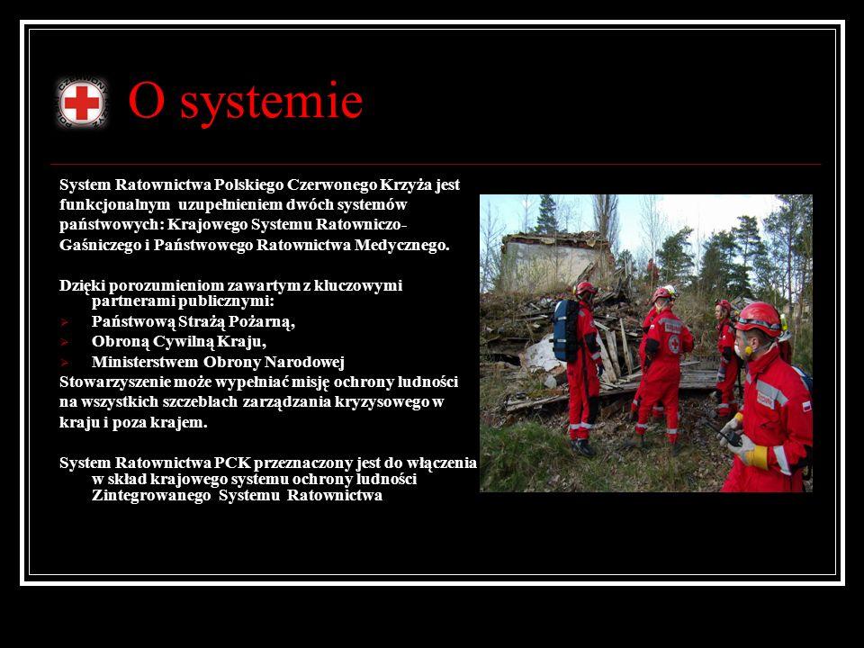 O systemie System Ratownictwa Polskiego Czerwonego Krzyża jest