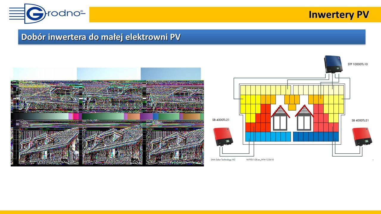 Inwertery PV Dobór inwertera do małej elektrowni PV