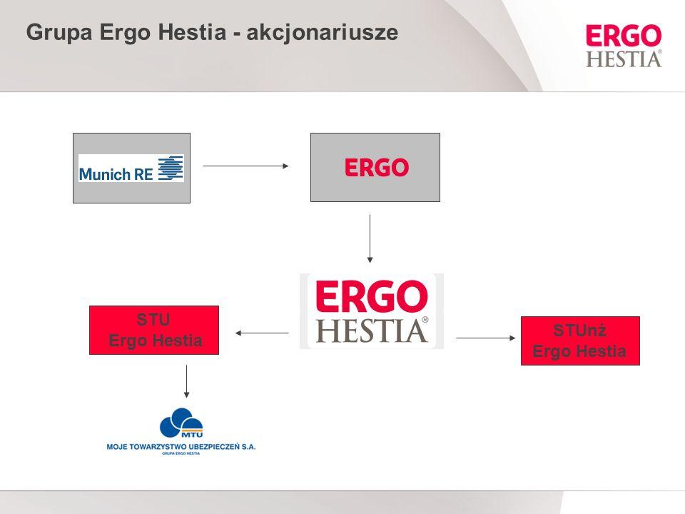 Grupa Ergo Hestia - akcjonariusze