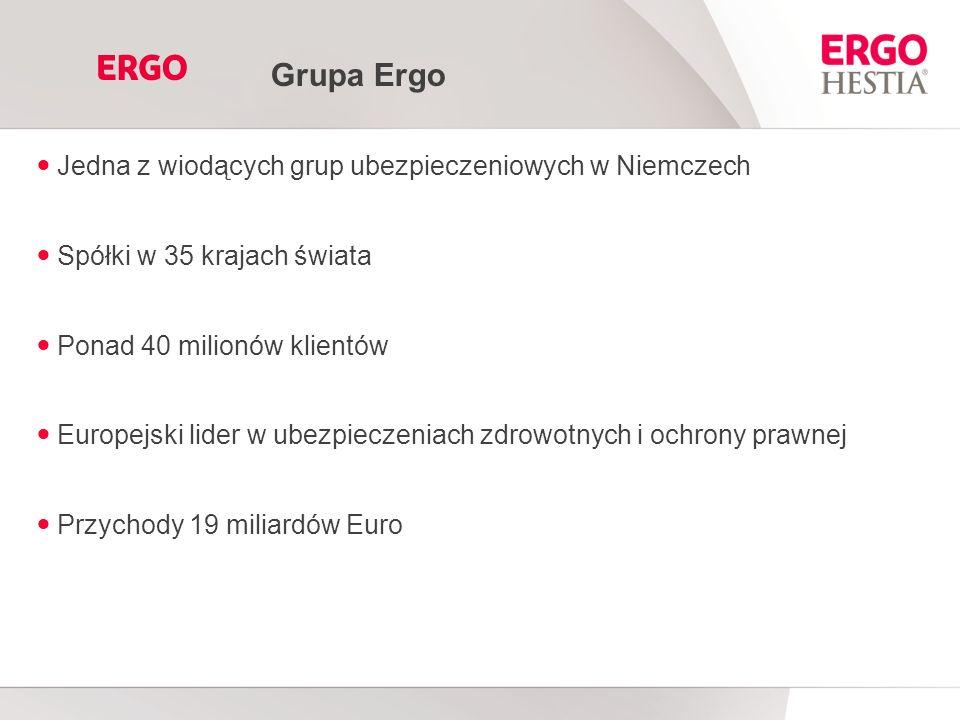 Grupa Ergo Jedna z wiodących grup ubezpieczeniowych w Niemczech