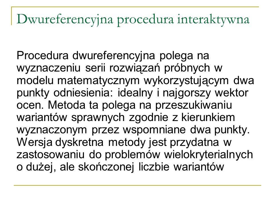 Dwureferencyjna procedura interaktywna