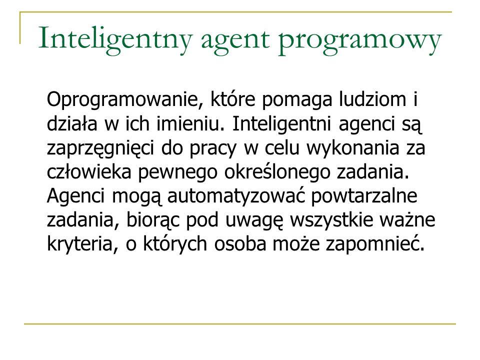 Inteligentny agent programowy