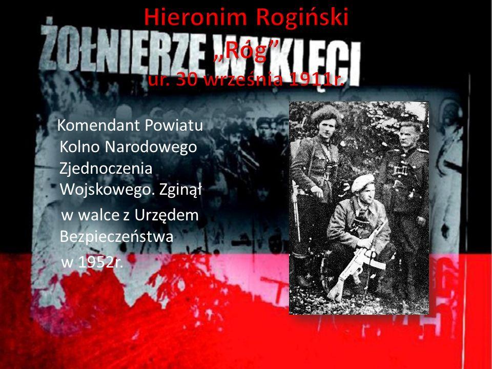 """Hieronim Rogiński """"Róg ur. 30 września 1911r."""