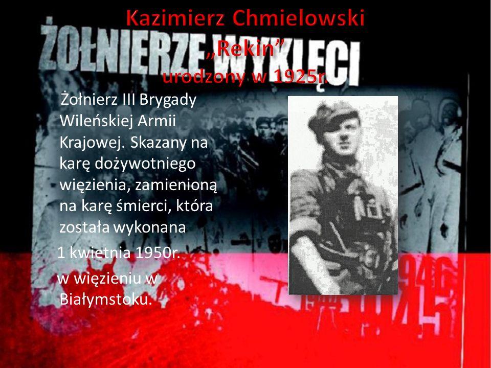 """Kazimierz Chmielowski """"Rekin urodzony w 1925r."""