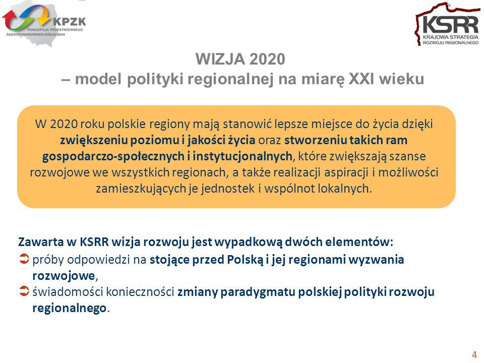 WIZJA 2020 – model polityki regionalnej na miarę XXI wieku