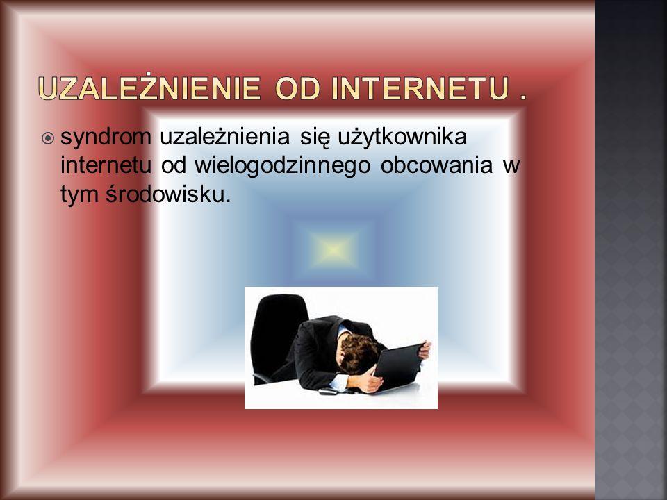 Uzależnienie od Internetu .