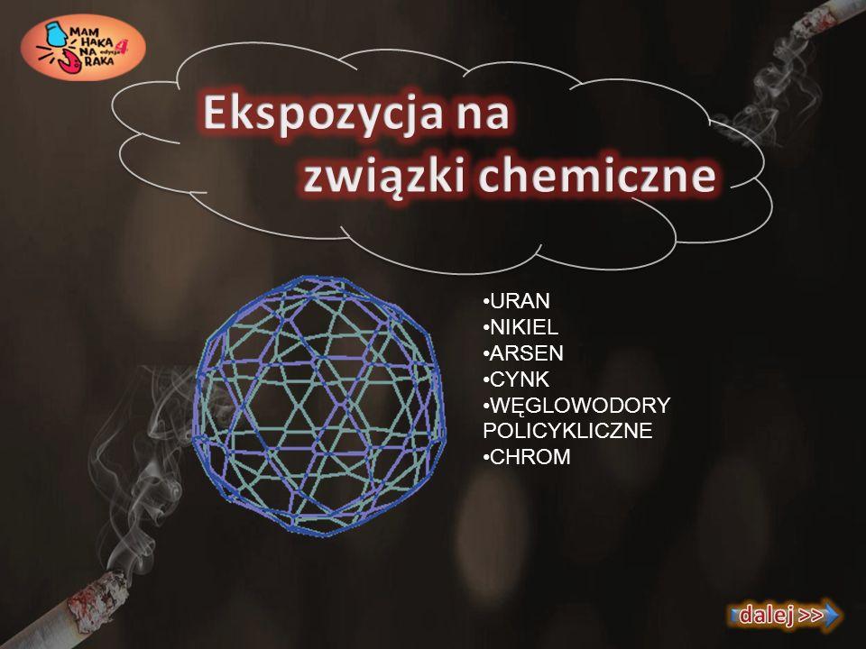 Ekspozycja na związki chemiczne
