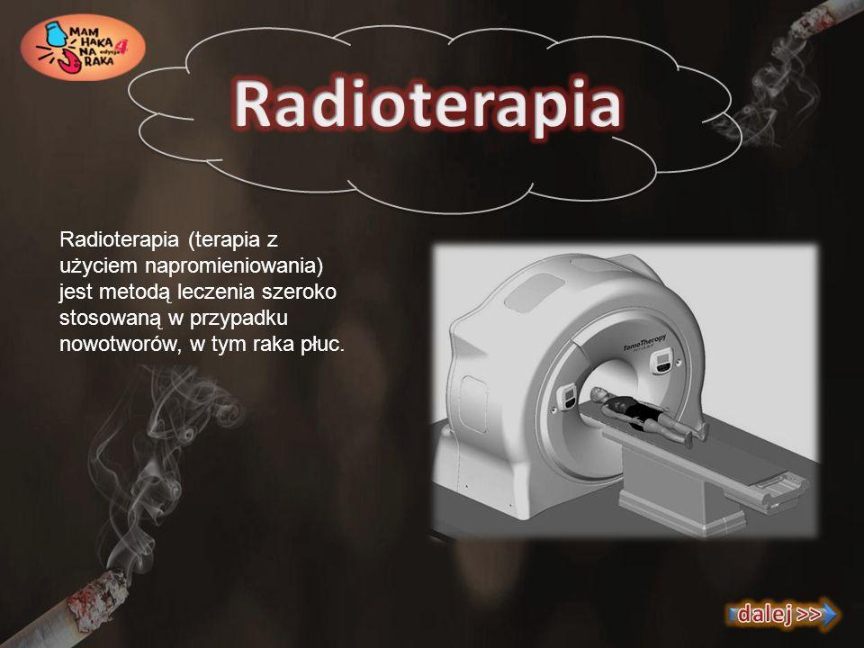 Radioterapia dalej >>