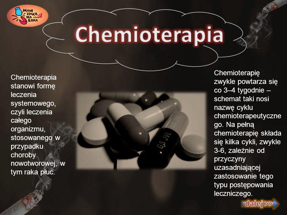 Chemioterapia dalej >>