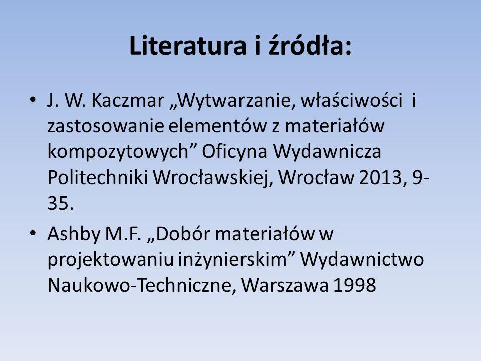 Literatura i źródła: