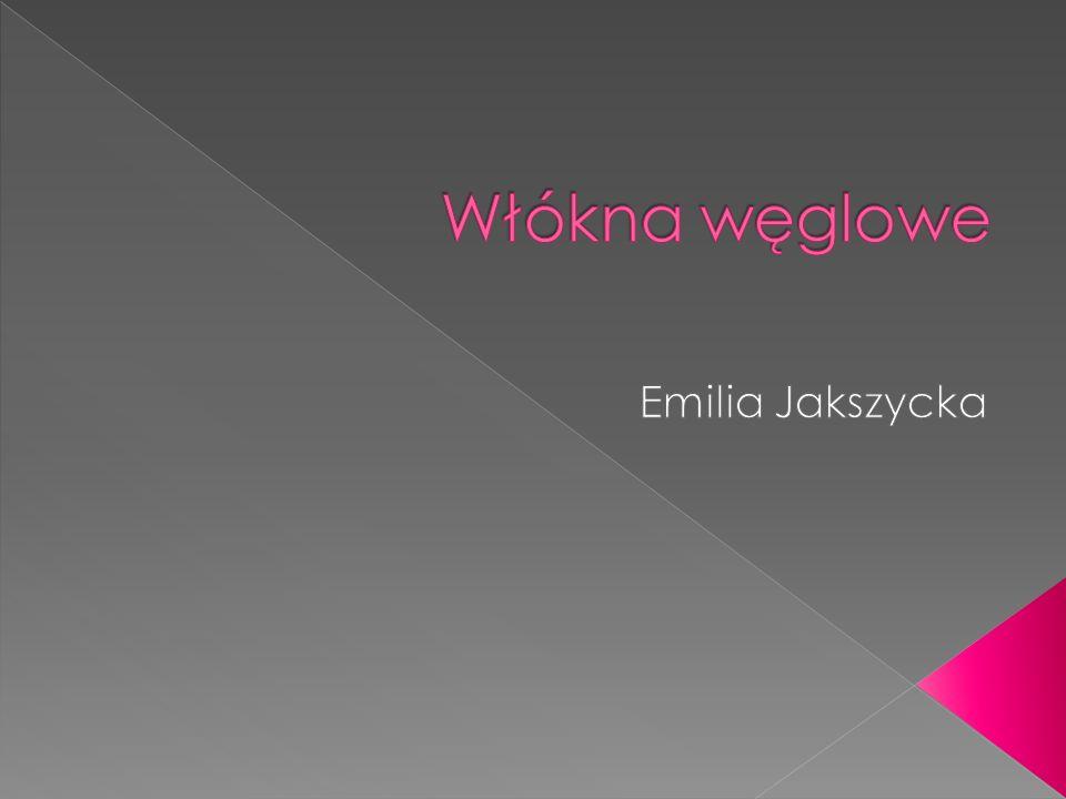Włókna węglowe Emilia Jakszycka