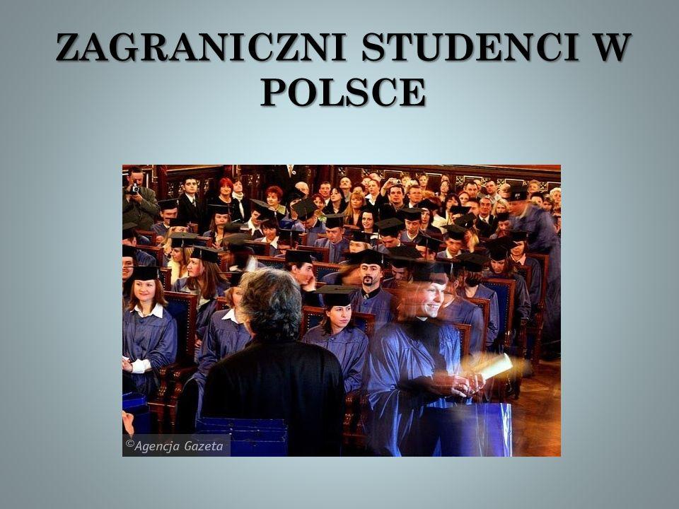 ZAGRANICZNI STUDENCI W POLSCE