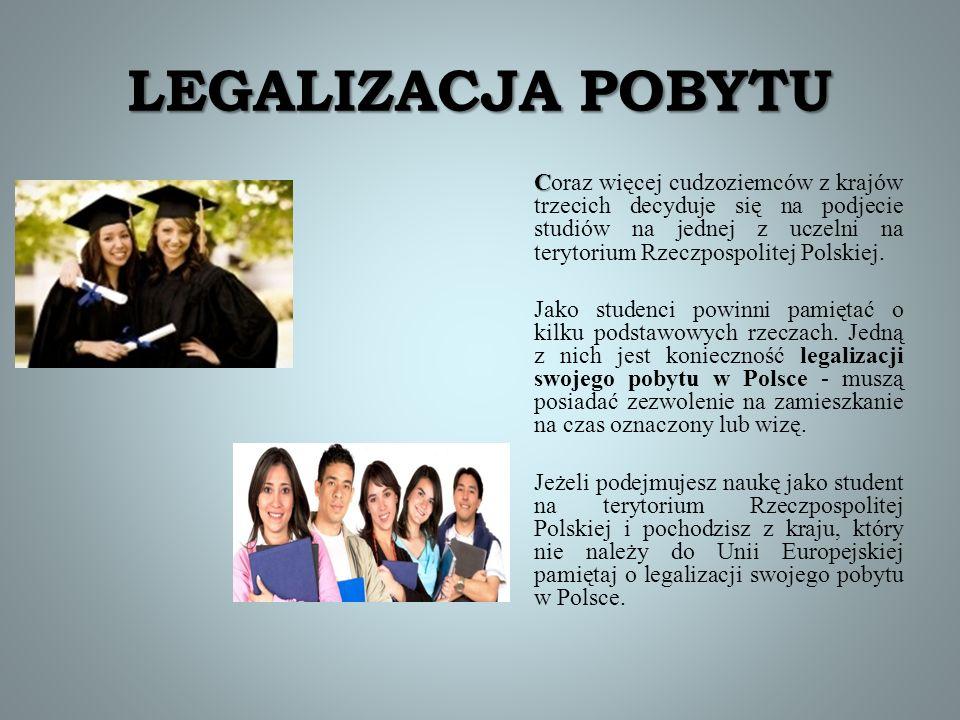 LEGALIZACJA POBYTU