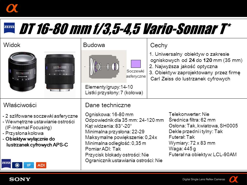 DT 16-80 mm f/3,5-4,5 Vario-Sonnar T*