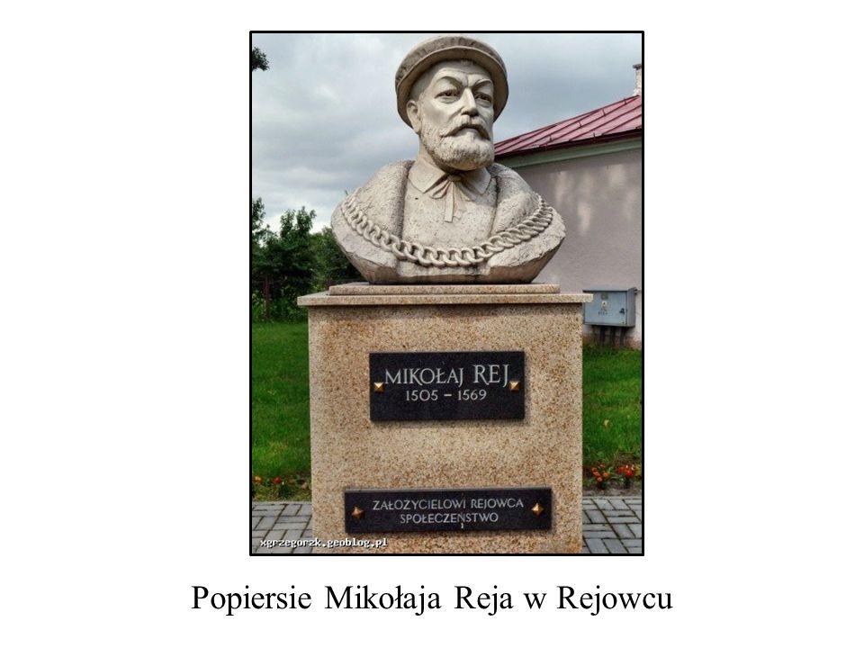 Popiersie Mikołaja Reja w Rejowcu
