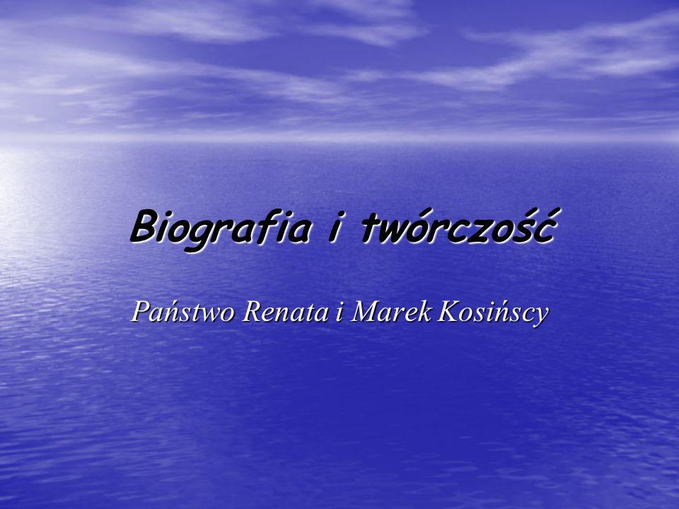 Państwo Renata i Marek Kosińscy