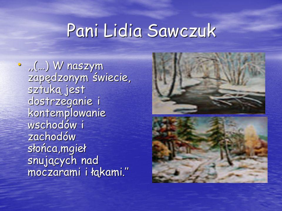 Pani Lidia Sawczuk