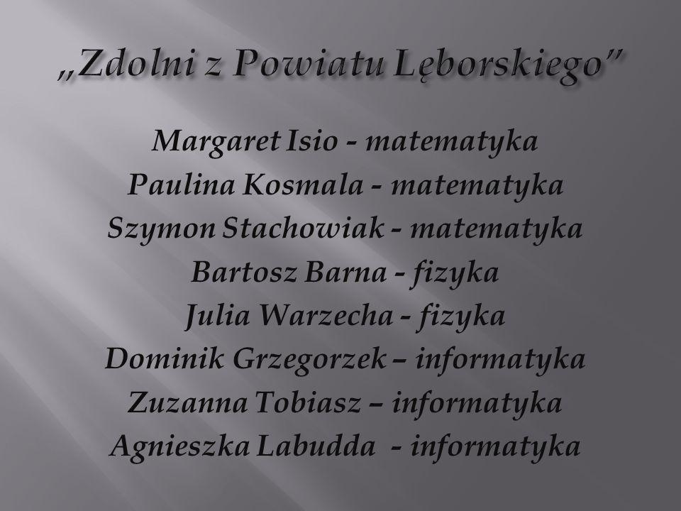 """""""Zdolni z Powiatu Lęborskiego"""