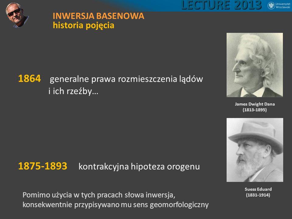 LECTURE 2013 1864 generalne prawa rozmieszczenia lądów
