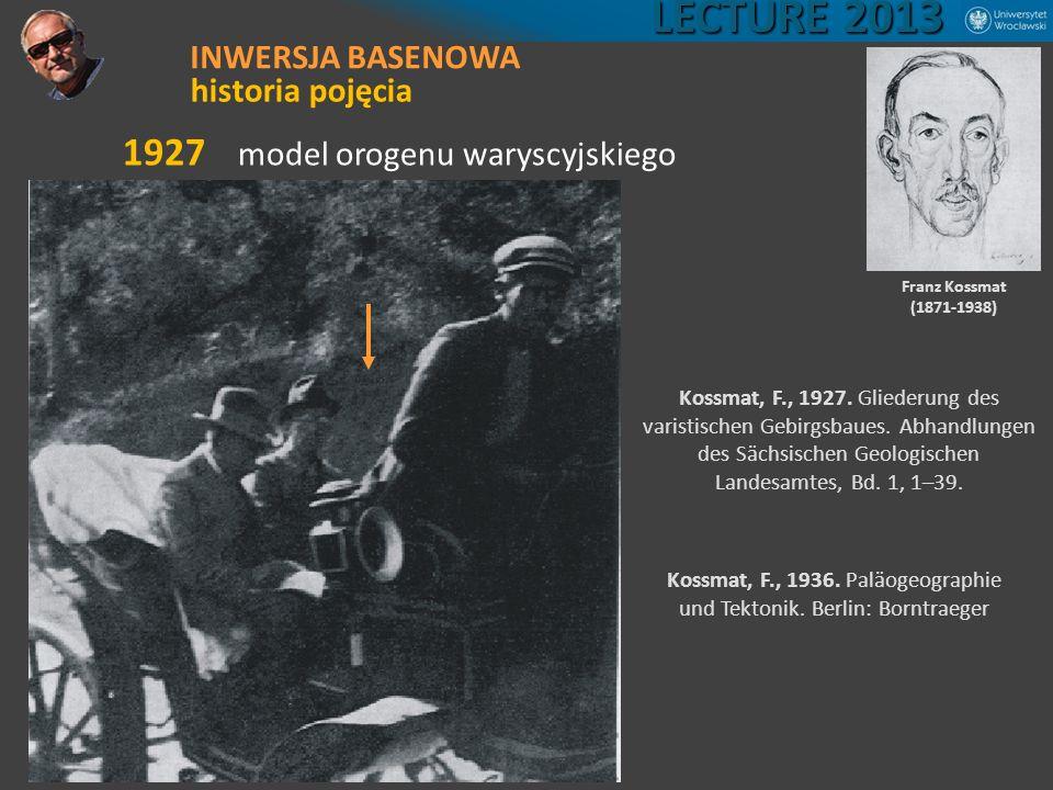 Kossmat, F., 1936. Paläogeographie und Tektonik. Berlin: Borntraeger