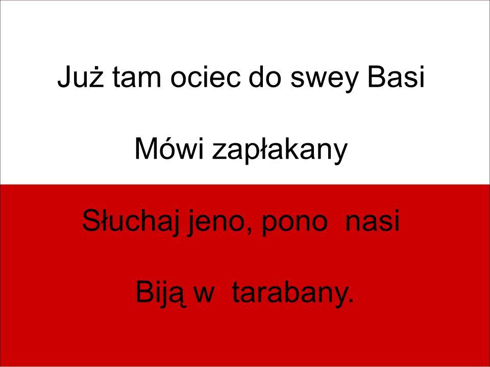 Już tam ociec do swey Basi