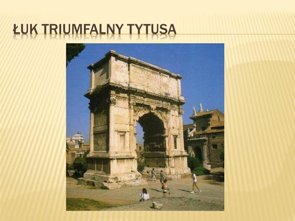 łuk triumfalny Tytusa