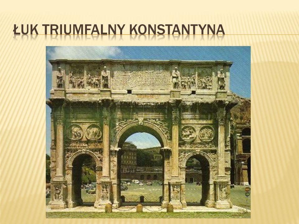 łuk triumfalny Konstantyna