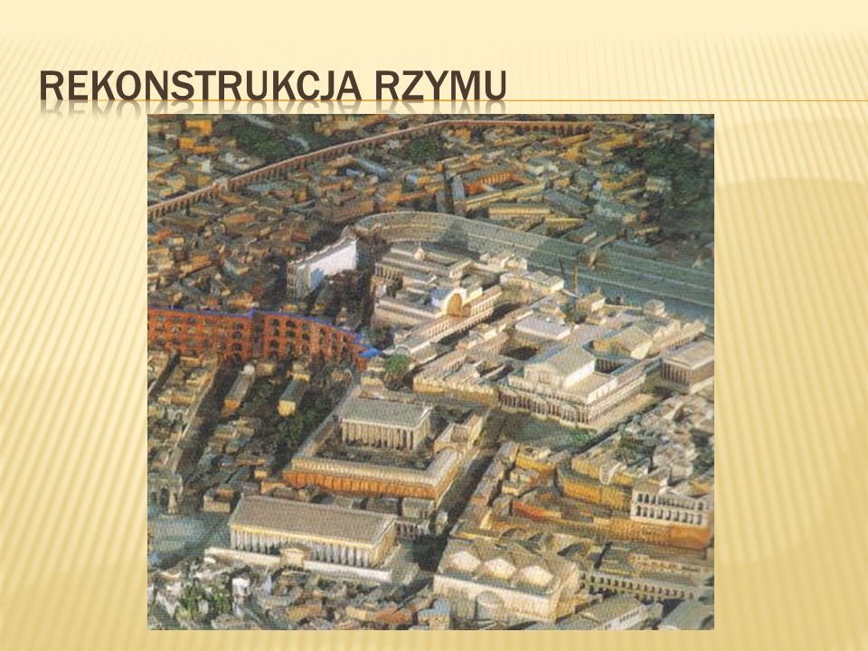 Rekonstrukcja rzymu