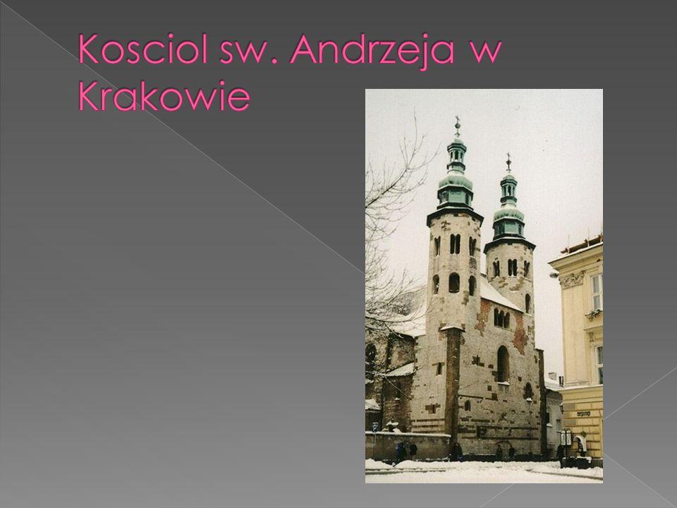Kosciol sw. Andrzeja w Krakowie