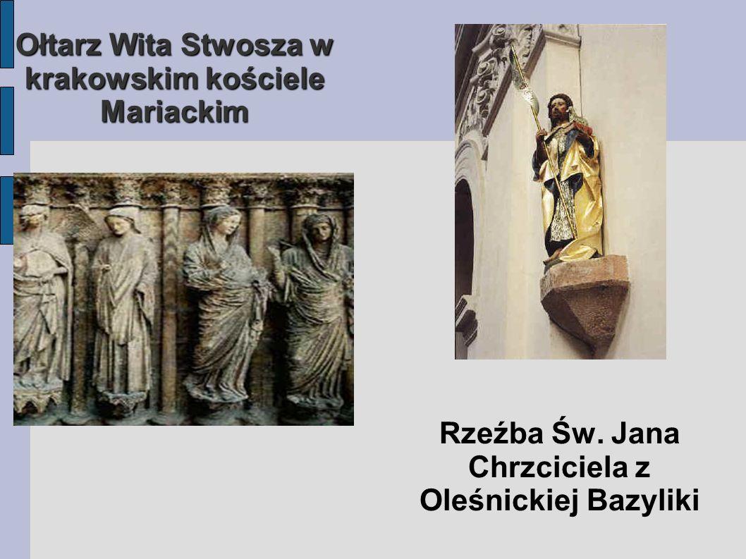 Ołtarz Wita Stwosza w krakowskim kościele Mariackim